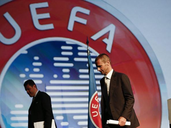 Uefa: Domani si elegge nuovo presidente, una poltrona per due