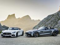 Mercedes Amg: ecco le GT Roadster