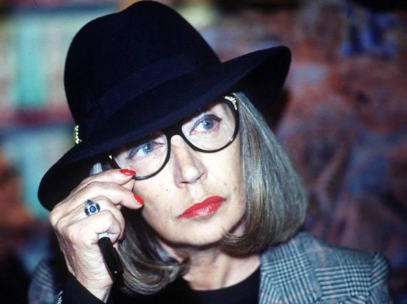 La giornalista e scrittrice Oriana Fallaci (1929-2006)