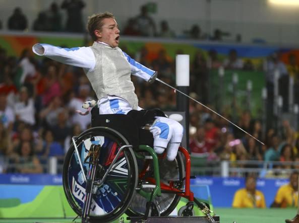 Paralimpiadi, raffica di successi azzurri: oro per Bebe Vio