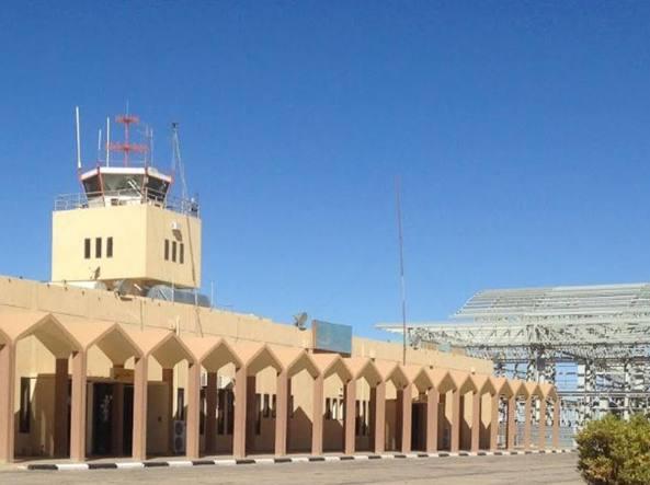 L'aeroporto di Ghat