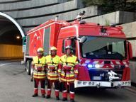 Gsa squadra anti-incendi, la Pmi di Udine da 10 anni nel Monte Bianco