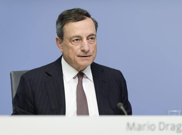 Draghi (Bce):