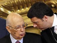 Napolitano: comprensibili le critichedi Renzi all'Unione EuropeaMa non si può fare da soli