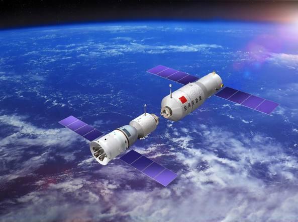La Stazione spaziale cinese Tiangong-1 è fuori controllo e sta precipitando