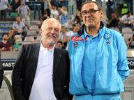 Serie A, De Laurentiis sconfessa Sarri «Niente alibi, rispettiamo gli arbitri»