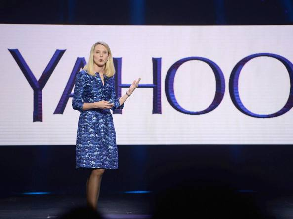 Marissa Mayer, ceo di Yahoo