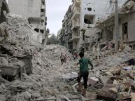 «Noi ad Aleppo, sotto le bombe»