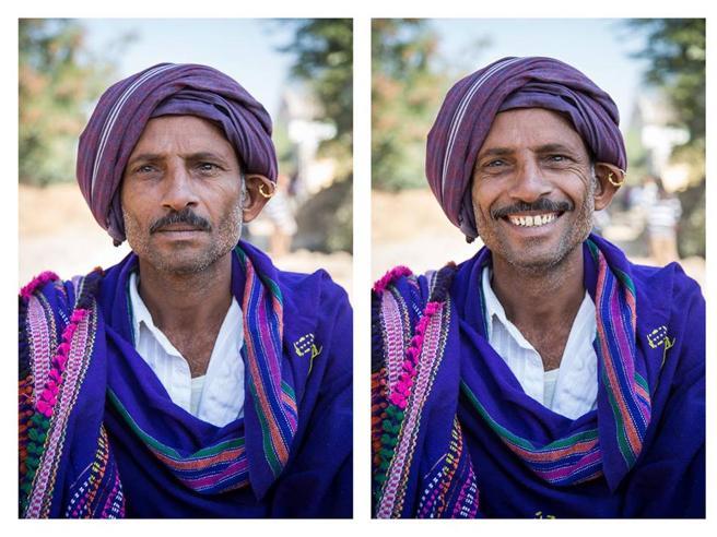 «Poi gli ho chiesto di sorridere»: ecco come cambiano i volti con un sorriso