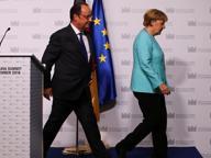 Incontro europeo Merkel-Hollande senza Renzi: nuovo caso per Roma