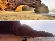 Marocco: crollato lo spettacolare arco di Legzira