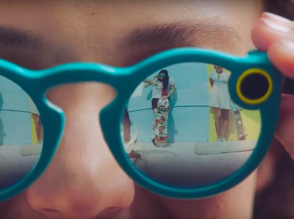 Spectacles, come funzionano gli occhiali di Snapchat per registrare video