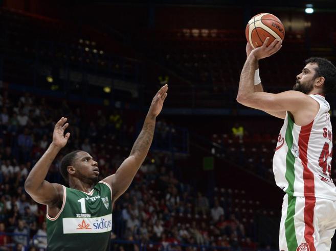 Basket, Supercoppa: Milano-Avellino 90-72, primo titolo per l'Olimpia