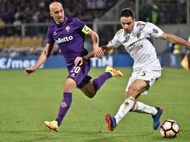 Serie A, Fiorentina-Milan 0-0, pagelle rossonere: Bonaventura sarto, De Sciglio confuso