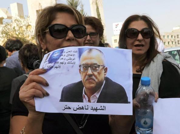 Nahed Attar: lo scrittore assassinato per una vignetta ad Amman