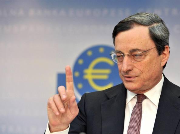 Bce, Draghi: Ue agisca contro diffusa sensazione di insicurezza