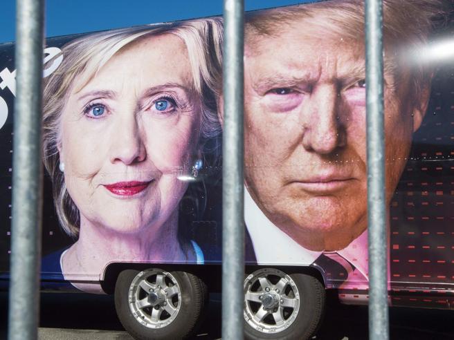 Stati Uniti: Clinton-TrumpÈ l'ora del faccia a faccia