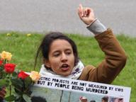 La figlia di Bertha Cáceres: «Difendo l'Honduras nel nome di mia madre»