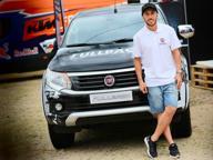 Il re del motocross Tony Cairoli testimonial per il pick-up Fullback