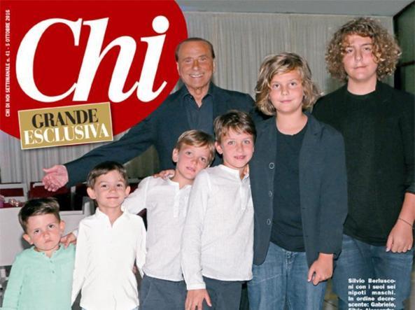 Gli 80 anni di Berlusconi,