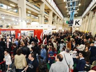 Salone del libro di Torino 2013 (Foto Ansa)