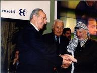 Shimon Peres a Cernobbio, una presenza fissa per 25 anni
