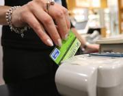 Un operazione con la carta di pagamento