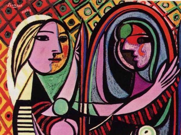 La donna che visse due volte il femminile ha un volto - Ragazza davanti allo specchio ...