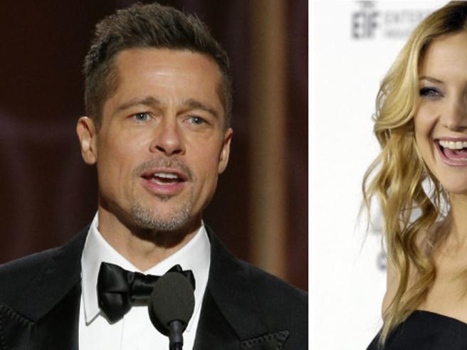 Media australiani: è Kate Hudson la nuova fiamma di Brad Pitt