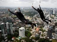 Malesia: base jumper, tuffi da brividi