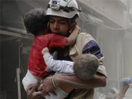 Coraggio da Caschi Bianchi «Dopo le bombe, arrivo io»