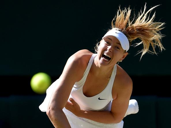 Tennis, Doping: Sharapova in campo nel 2017,