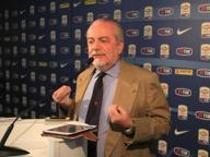 Napoli, De Laurentiis: «I procuratori sono il cancro di questo sport»