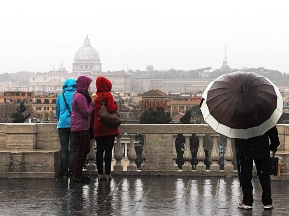 Meteo Roma, arriva l'autunno: piogge e freddo