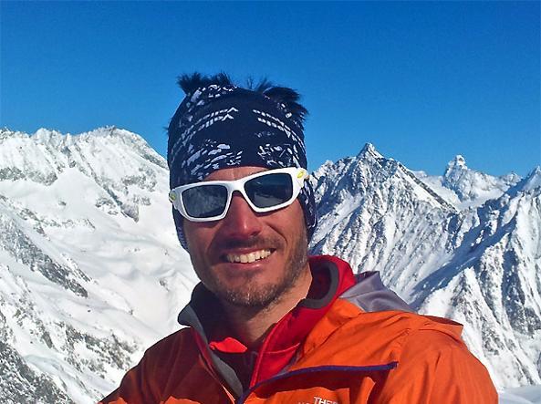 Ottavio Gerard, presidente delle guide alpine del Cervino