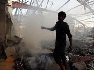 Yemen, strage al funeraleRaid saudita fa oltre 80 morti