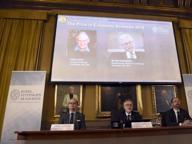 Oliver Hart e Bengt Holmstrom,i due Nobel per l'Economia