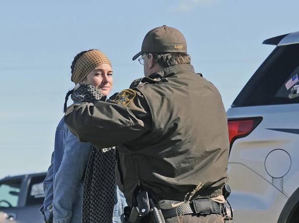 Arrestata Shailene Woodley: l'attrice protestava contro un oleodotto