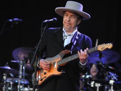 Bob Dylan in concerto (Afp/Torsten Blackwood)