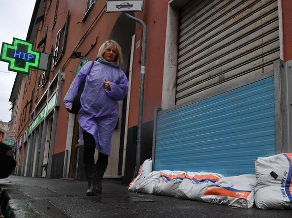 Maltempo: allerta gialla in Liguria per piogge e temporali