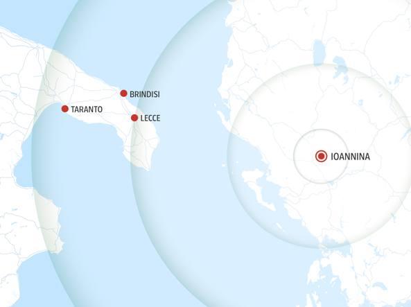 Terremoto in Grecia, scossa avvertita anche a Bari e provincia