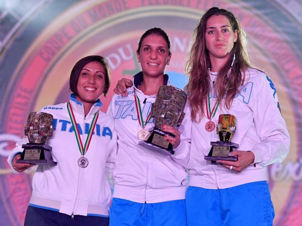 Il fioretto della Errigo torna vincente Tripletta azzurra in Coppa a Cancun