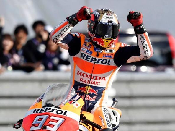 MotoGP 2016: Marc Marquez è campione del mondo