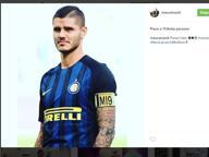 Caos Inter, Icardi si tiene la fascia Foto sui social: «Non la lascio mai»