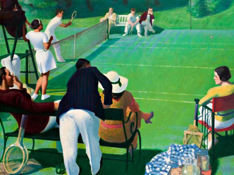 Lezioni di tennis con mistero: il colore di Barcellona è giallo