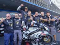 Moto in pista, solo De Rosa vince un mondiale: a lui lo Stock 1000 sulla BMW