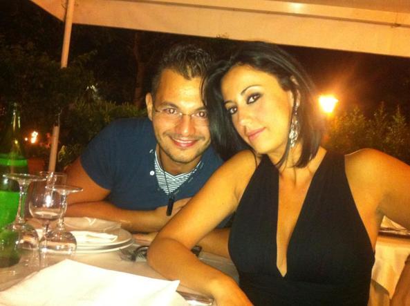Valentina Milluzzo con il marito