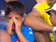 Salvatore non piange più: sarà tifoso d'eccezione del Napoli in Champions
