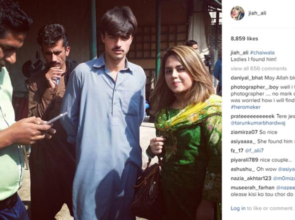 Arshad, da giovane venditore di tè a modello grazie ai social network