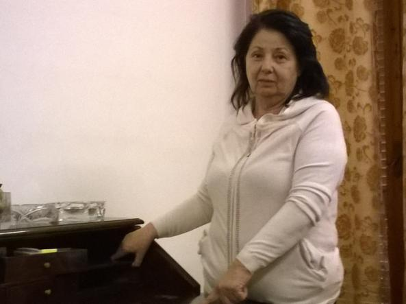 Angela Vargas, 60 anni, abita a Genova